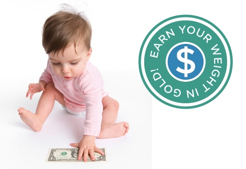 Infant - Worth Your Weight in Gold Program
